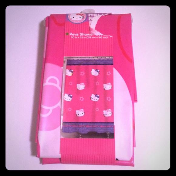 NWT Hello Kitty Shower Curtain